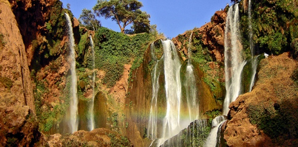 DAY EXCURSION TO OUZOUD WATERFALLS-Day Trip From Marrakech
