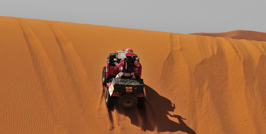 Morocco QUAD Biking Desert