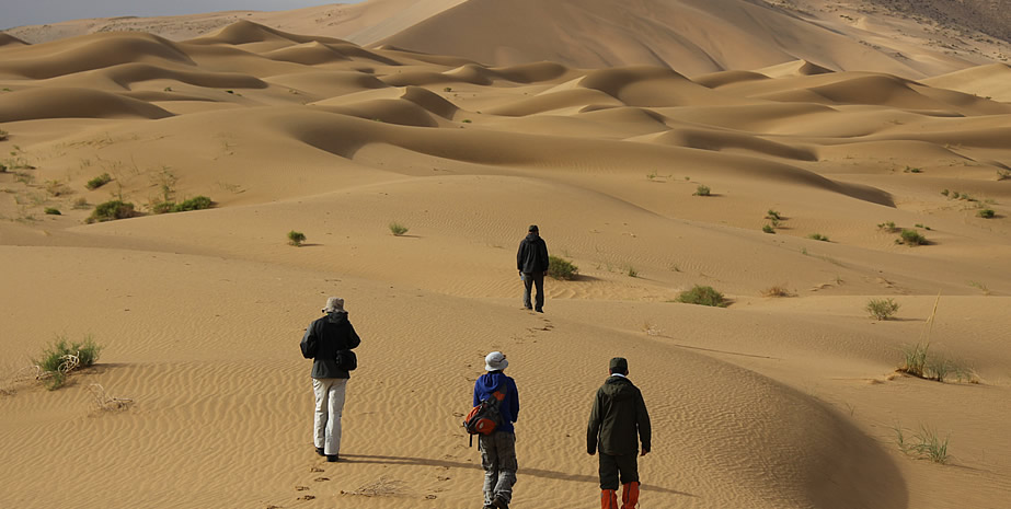 Trekking in Desert Morocco